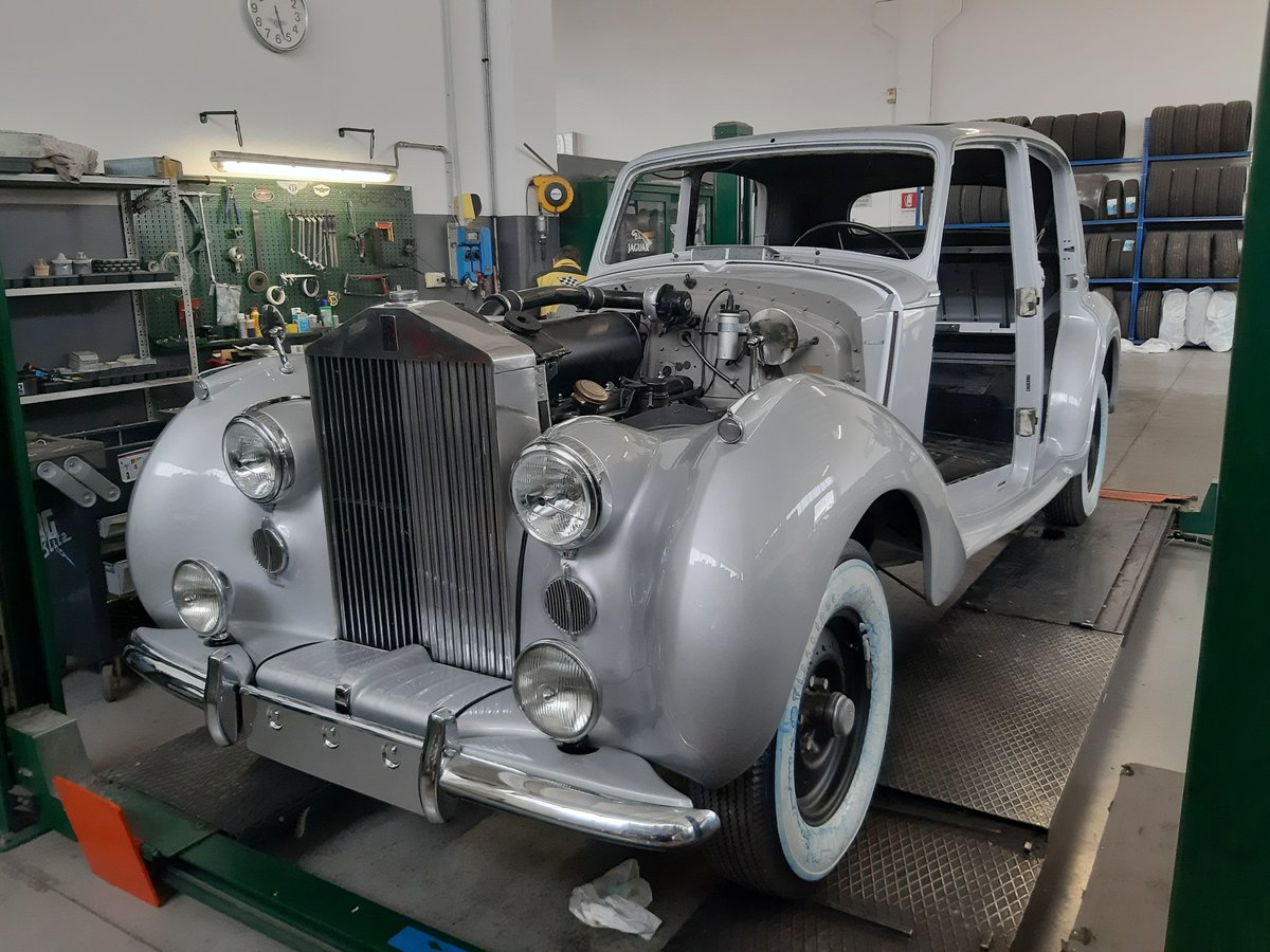 Rolls-Royce Silver Dawn LHD 1951 restored For Sale (picture 1 of 6)