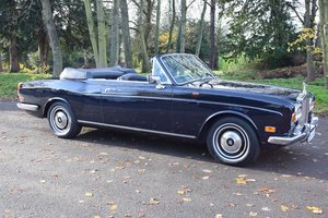 1969 Rolls Royce MPW Convertible in Oxford Blue