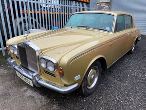 **REMAINS AVAILABLE** 1972 Rolls Royce Silver Shadow 1 For Sale by Auction