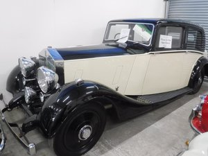 **REMAINS AVAILABLE** 1937 Rolls Royce 25/30 For Sale by Auction