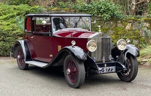 1929 Rolls-Royce 20/25 Park Ward Two Door Saloon GXO80 For Sale