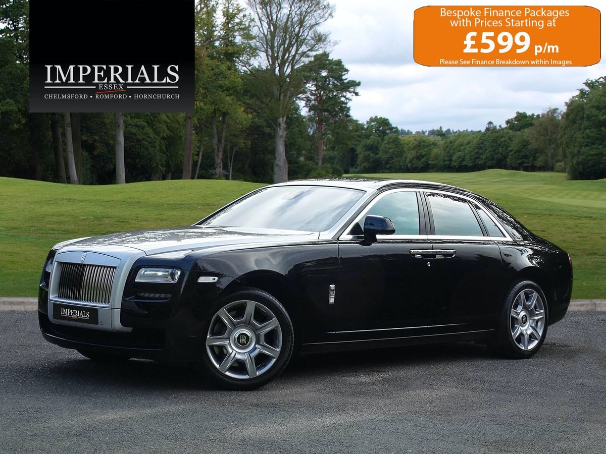 2014 ROLLS ROYCE  GHOST  V12 SALOON LHD AUTO  109,948 For Sale (picture 1 of 24)