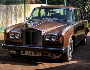 Low Mileage Rolls-Royce Silver Shadow 2