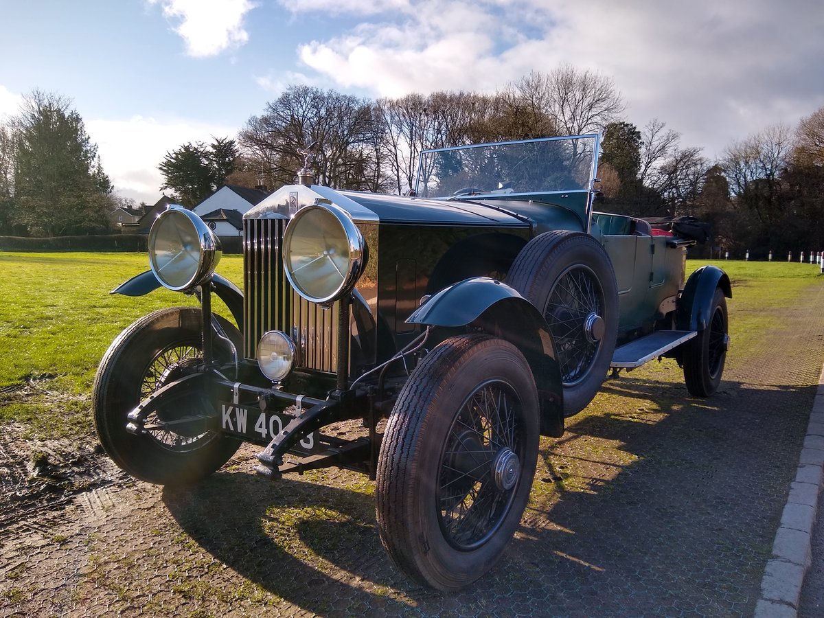 1928 Rolls Royce 20hp open tourer 4 litre For Sale (picture 1 of 6)