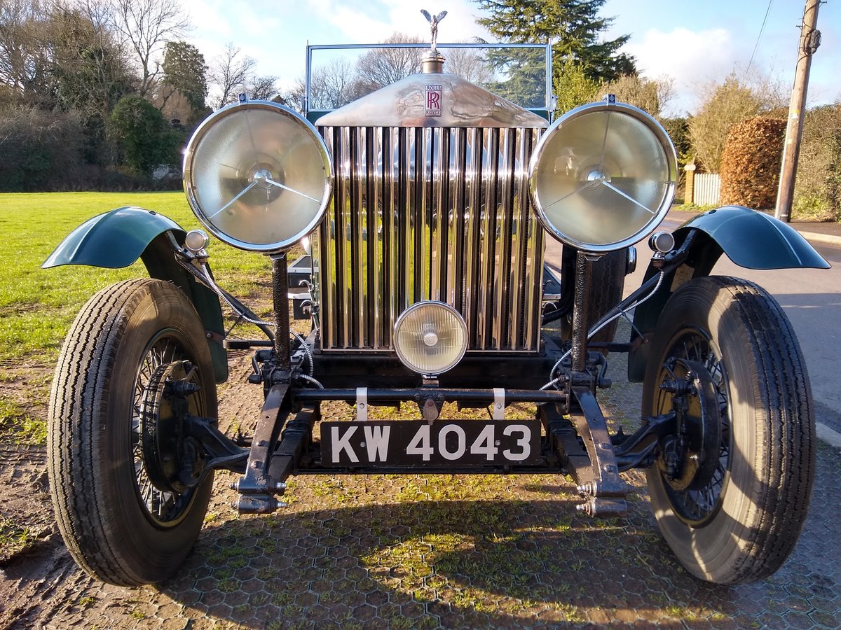 1928 Rolls Royce 20hp open tourer 4 litre For Sale (picture 2 of 6)