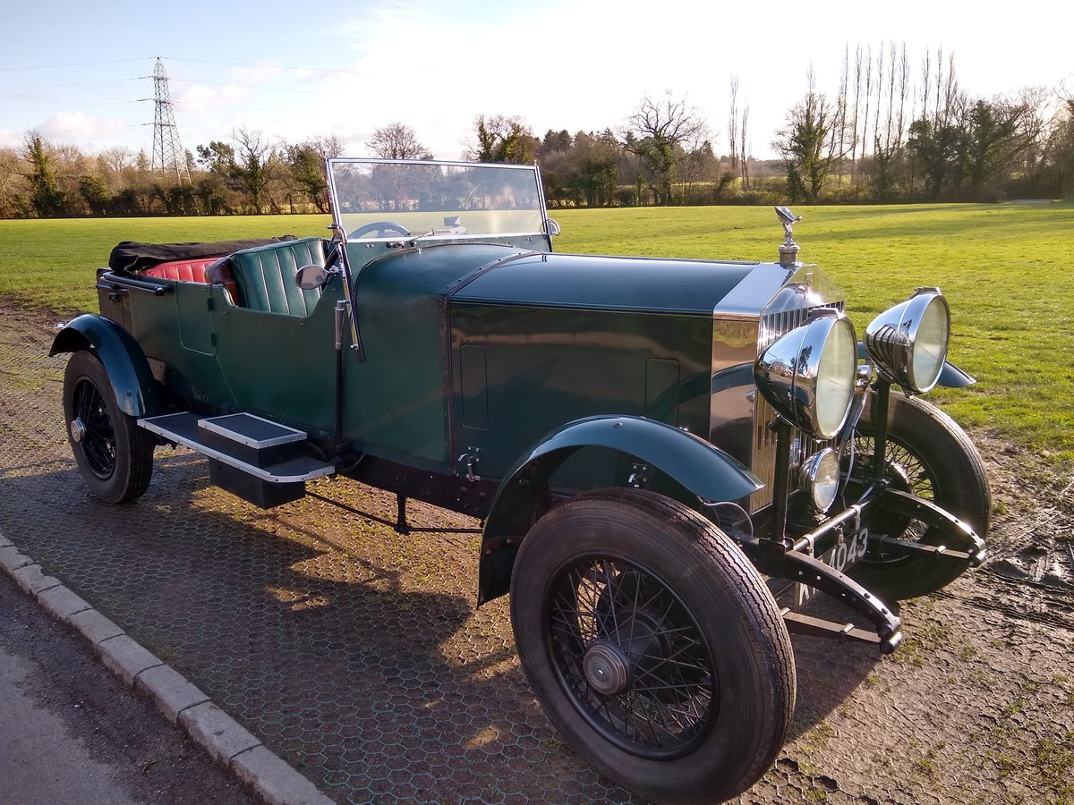 1928 Rolls Royce 20hp open tourer 4 litre For Sale (picture 3 of 6)