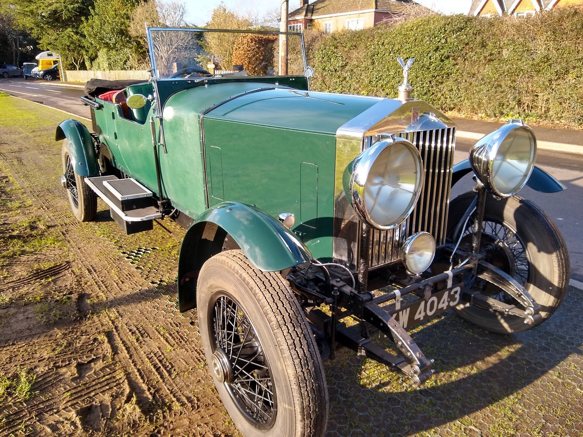 1928 Rolls Royce 20hp open tourer 4 litre For Sale (picture 5 of 6)