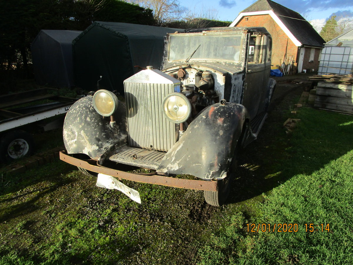 1935 Rolls royce 2025 for restoration SOLD (picture 1 of 6)