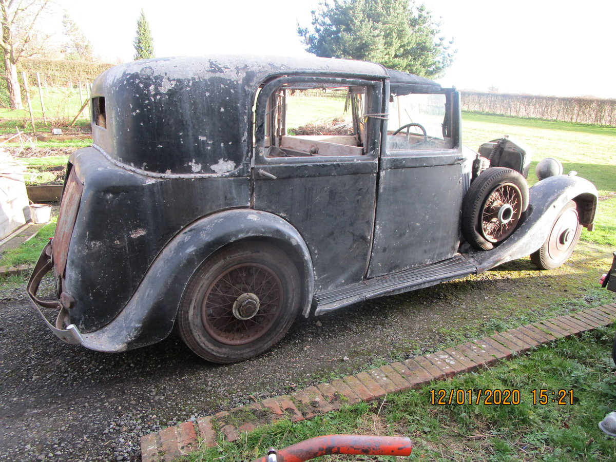 1935 Rolls royce 2025 for restoration SOLD (picture 2 of 6)
