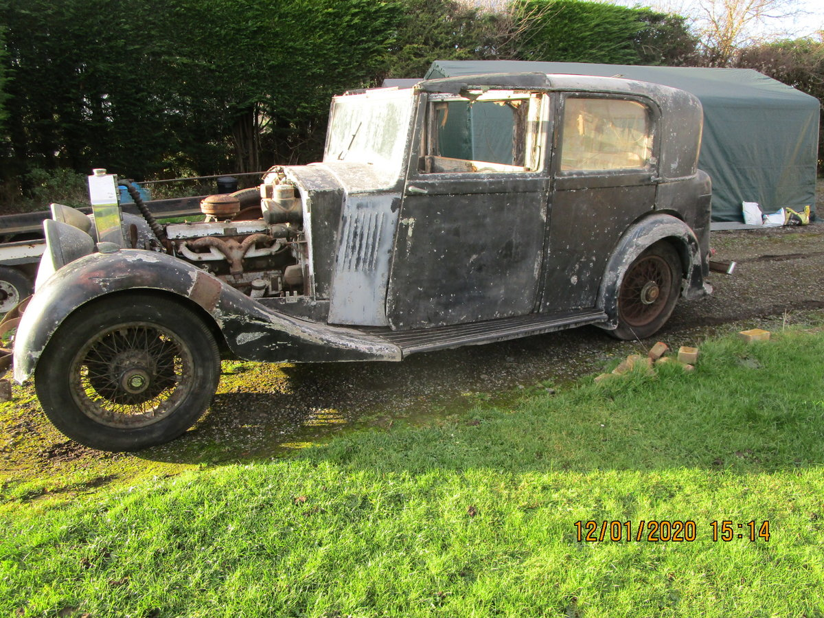 1935 Rolls royce 2025 for restoration SOLD (picture 6 of 6)