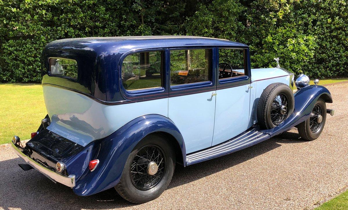 1934 ROLLS ROYCE PHANTOM II        PARK WARD LIMOUSINE For Sale (picture 3 of 6)