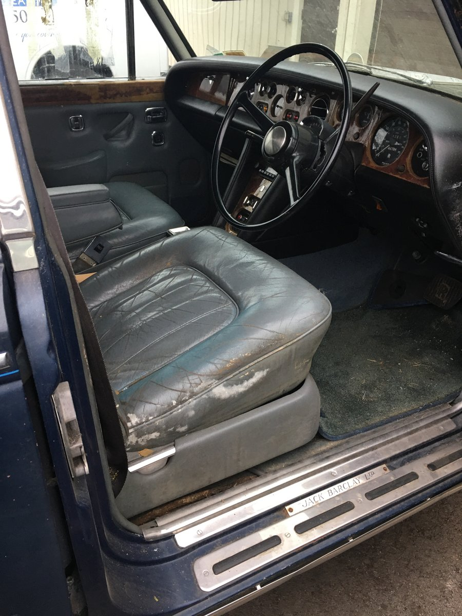 1972 Rolls Royce silver shadow right hand drive project  For Sale (picture 4 of 6)