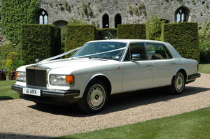1988 Rolls-Royce Silver Spur in White For Sale