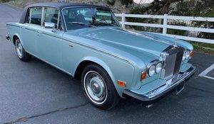 1975 Rolls-Royce Silver Shadow LHD Jade Green(~)Navy $39k