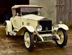 1923 Rolls Royce 20hp Doctors Coupe by Watsons of Liverpool