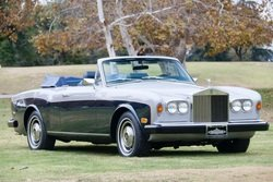 1980 Rolls-Royce Corniche Convertible LHD Silver(~)Blue $47