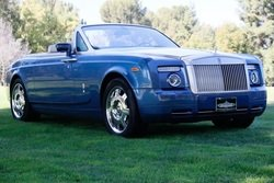 2008 Rolls-Royce Phantom Drophead Coupe Blue(~)Tan $145.8k