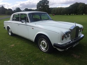 1982 Rolls Royce Silver Shadow 2 6750cc V8 4door Saloon