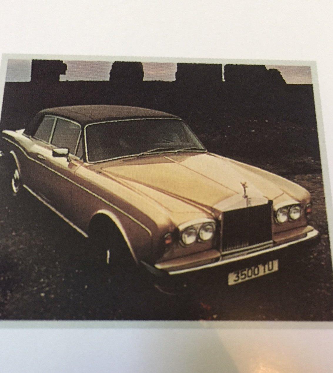 1978 Rolls-Royce Corniche FHC  For Sale (picture 5 of 6)