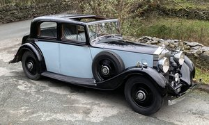 1935 Rolls-Royce 20/25 H.J.Mulliner Sports Saloon For Sale