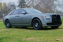 2014 Rolls-Royce Ghost Sedan Silver(~)Black Loaded $123.8k For Sale
