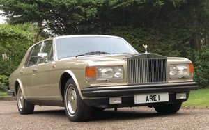 1984 ROLLS ROCYE SILVER SPIRIT 1 owner very low mileage