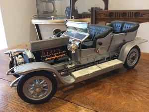 RR silver ghost franklin mint 1/12 scale metal For Sale