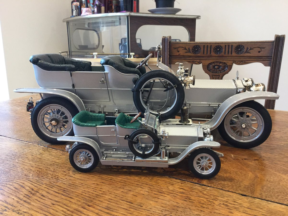 RR silver ghost franklin mint 1/12 scale metal For Sale (picture 2 of 6)