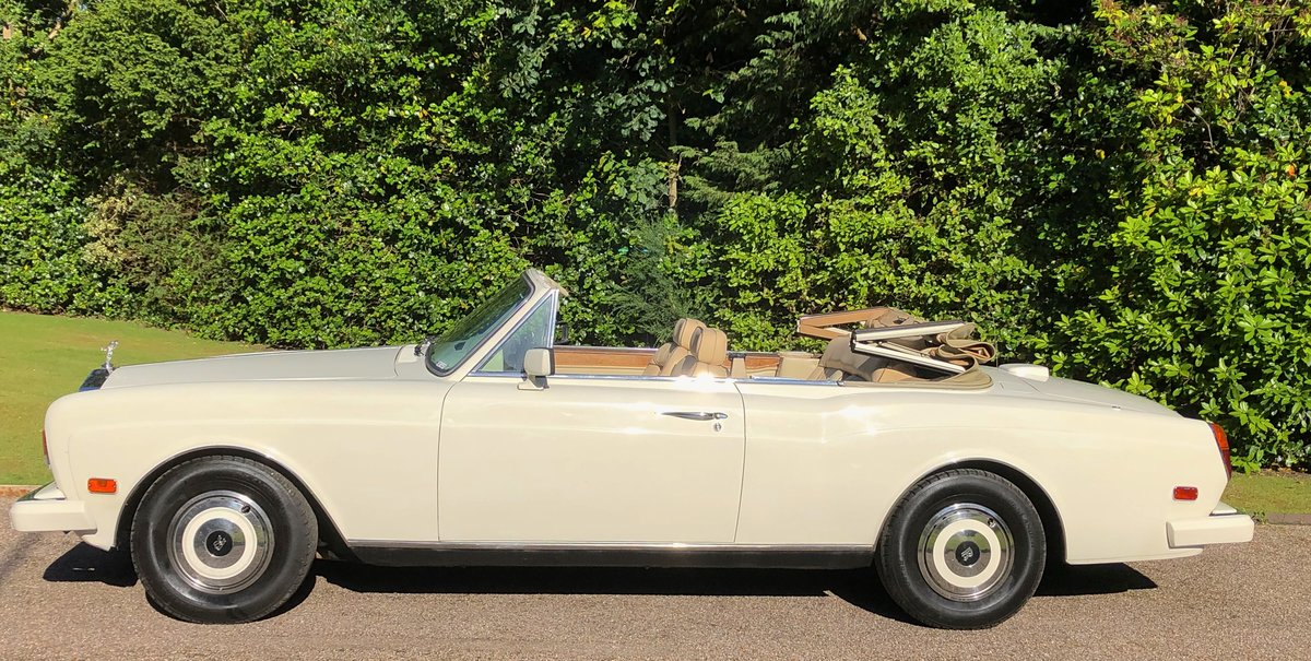 1988 ROLLS ROYCE CORNICHE CONVERTIBLE MKII      LHD For Sale (picture 2 of 6)