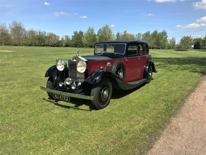 1934 Rolls-Royce 20/25 Sports Saloon For Sale