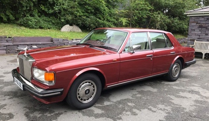 1987 Rolls Royce Silver Spirit Saloon For Sale (picture 1 of 9)