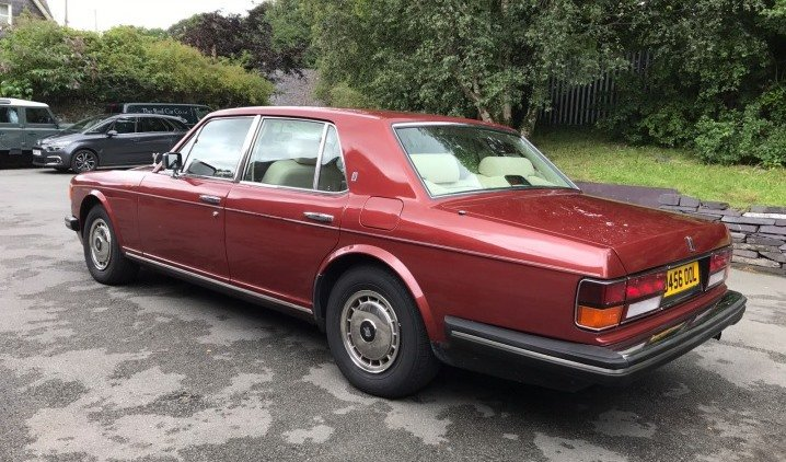 1987 Rolls Royce Silver Spirit Saloon For Sale (picture 4 of 9)