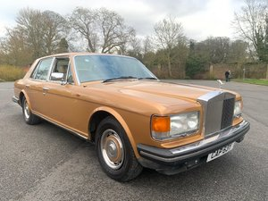 1982 Rolls Royce Silver Spirit SOLD by Auction