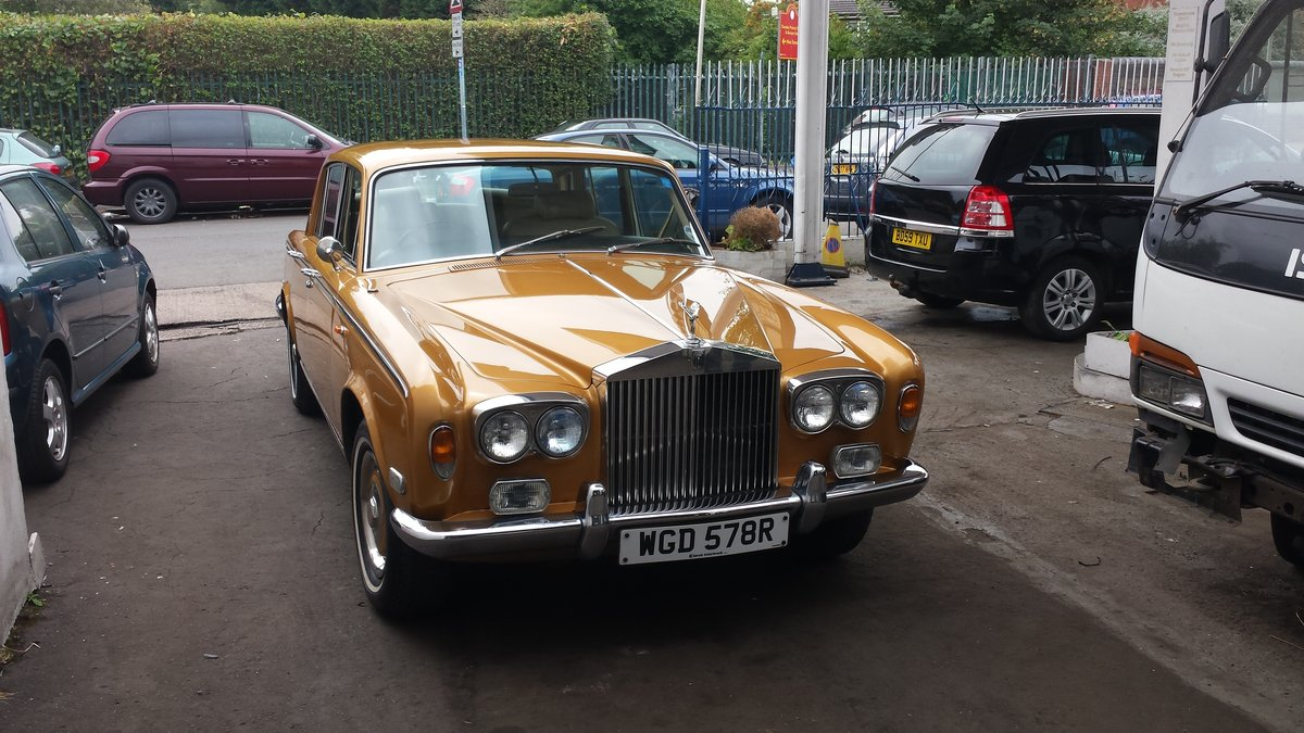 1977 Rolls Royce Silver Shadow Mk1  For Sale (picture 1 of 6)