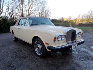 1978 Rolls-Royce Corniche Convertible For Sale by Auction
