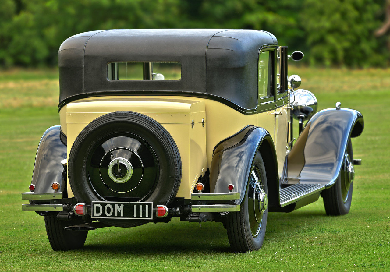 1931 Rolls Royce Phantom 2 Hooper Sedanca De Ville For Sale (picture 3 of 6)