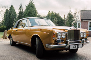 1972 ROLLS-ROYCE CORNICHE DHC - LOW OWNERS, STUNNING COND For Sale