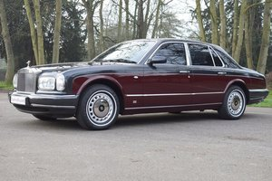 1998 R Rolls Royce Silver Seraph in Diamond Black / Claret