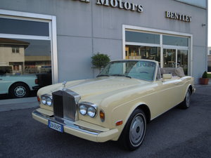 Picture of Rolls-Royce Corniche Ivory LHD 1985 For Sale