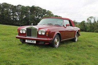 1985 Rolls Royce Corniche Convertible