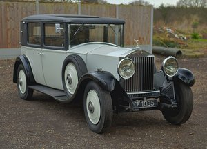 1931 Rolls Royce 20/25 H.J. Mulliner 4 Light Saloon