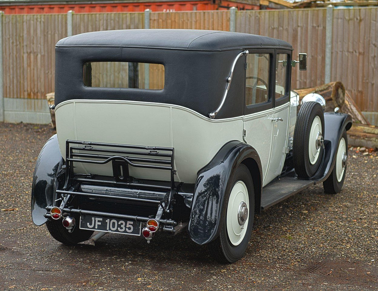 1931 Rolls Royce 20/25 H.J. Mulliner 4 Light Saloon For Sale (picture 3 of 6)
