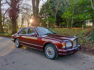 Sunset Red Rolls Royce Silver Seraph V12