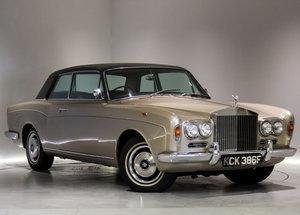 1968 Rolls Royce Silver Shadow MPW 2Door-Outstanding