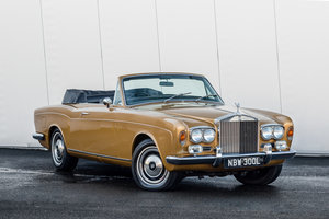 1973 Rolls Royce Corniche Convertible-Only 26552 Miles For Sale (picture 1 of 6)