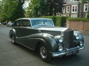 1955 Last silver wraith ever made by parkward