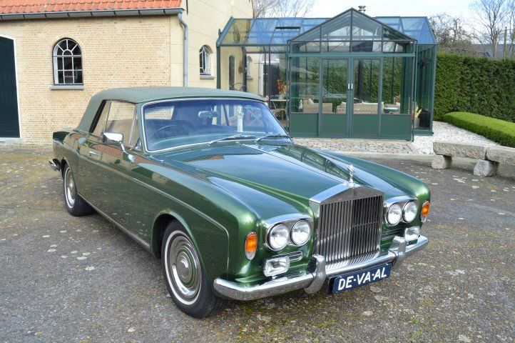 1969 Rolls-Royce Silver Shadow MPW convertible For Sale (picture 1 of 6)