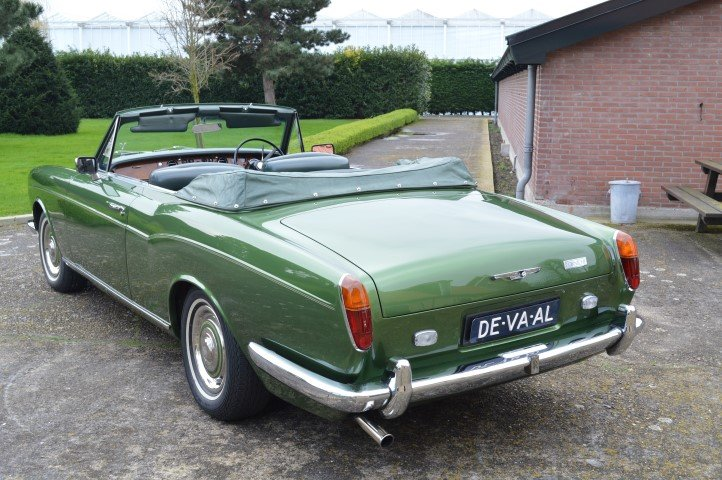 1969 Rolls-Royce Silver Shadow MPW convertible For Sale (picture 2 of 6)