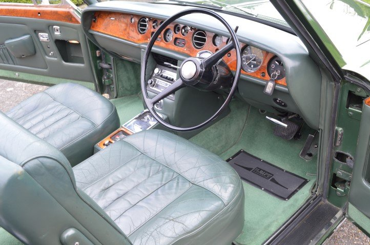 1969 Rolls-Royce Silver Shadow MPW convertible For Sale (picture 3 of 6)