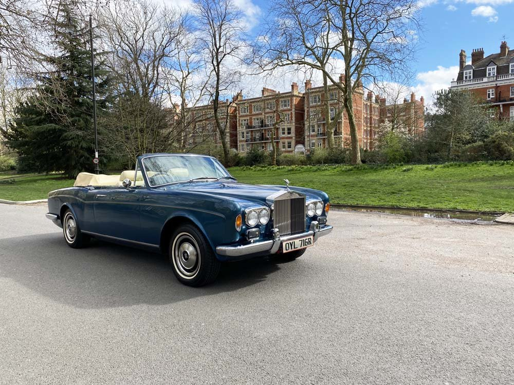 1976 Rolls-Royce Corniche 1A DHC with 11.000 miles only For Sale (picture 1 of 24)